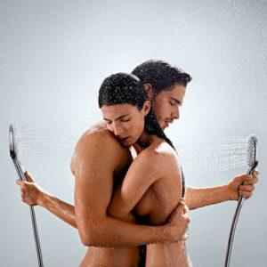 Совместный душ с массажистом